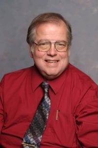 Paul Lepek wearing a tie