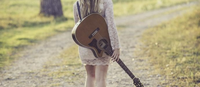 country musician lady